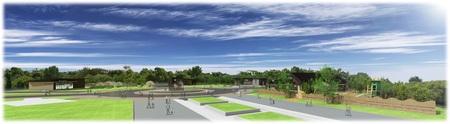 大阪城公園 森ノ宮噴水エリアにカフェなどがオープンします。