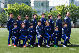 Japan's Women's National Blind Football Team Sponsored by Tanaka Kikinzoku Group...