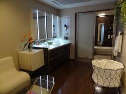 独立したプライベートルームになっている「入浴体感ルーム」