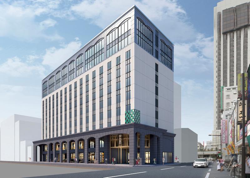 「浅草ビューホテル アネックス 六区」 外観イメージ