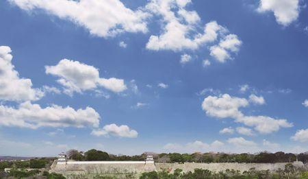 明石城全景