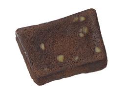 チョコレートとクルミのケーキ