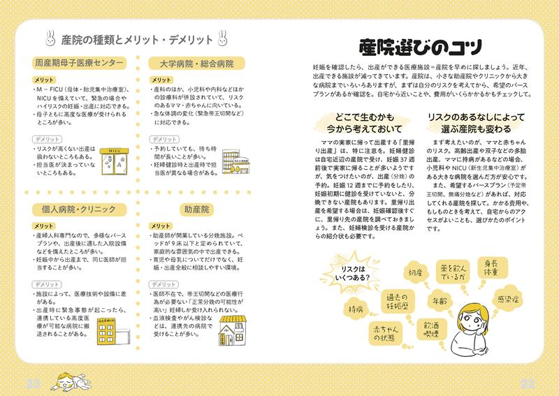 『赤ちゃんといっしょ』本文紹介(産院選びのコツ)