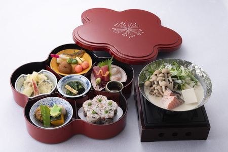 ホテルグランヴィア大阪 19階なにわ食彩「しずく」 昼食メニューイメージ「梅御膳」