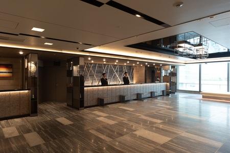 ホテルグランヴィア大阪 19階フロント写真