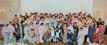 アートホテル小倉「着物ルネッサンス」イベントの参加者