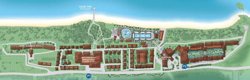 fusaki beach resort hotel & villas (map)