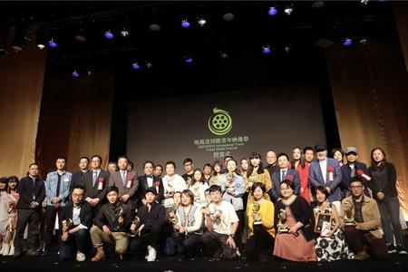 受賞者及びゲストによる記念写真