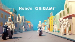 """Honda 'ORIGAMI',"" Honda Motor's Brand Movie Produced by CyberAgent, Receives Awards at ..."