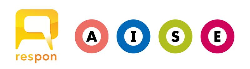 respon のロゴマークと、都営浅草線・三田線・新宿線・大江戸線の路線記号
