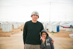 "Press Release ""A Conversation with Yoshitomo Nara: Experiencing the Life of Syrian Refugees"""