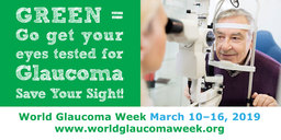 Conduct Activities to Raise Disease Awareness during World Glaucoma Week, March 10 to 16