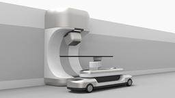 開発中の小型陽子線がん治療装置