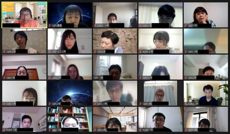 九州大学ビジネス・スクール(QBS)学生会がビジネスモデルワークショップをオンラインで開催