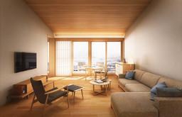 楽 水山 客室 リビングルーム