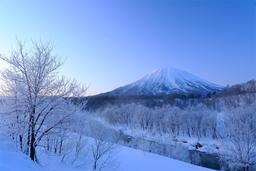 楽 水山 ニセコ 羊蹄山 冬イメージ