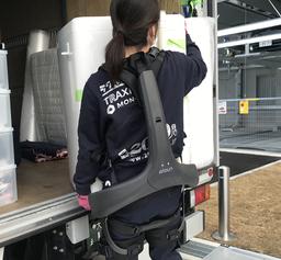 引越にロボット導入・パワードスーツで引越作業を改善