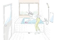 お風呂掃除に費やしている時間は 1年で「60時間以上」にのぼる計算に!?
